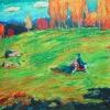 Реплика с картины Василия Кандинского