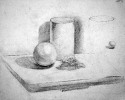 Cylinder and sphere