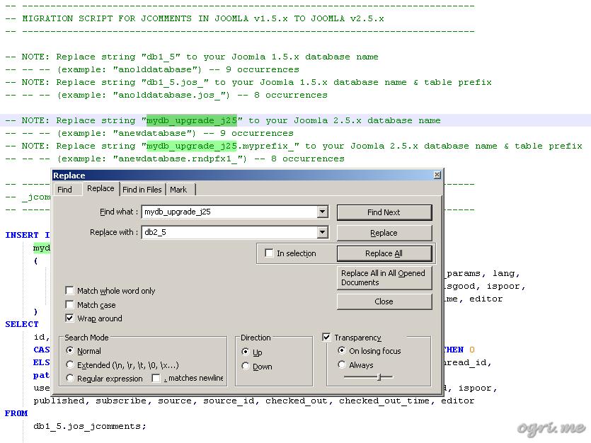 Migrating from joomla 1. 5 to joomla 2. 5. Part 2-1. Transferring.