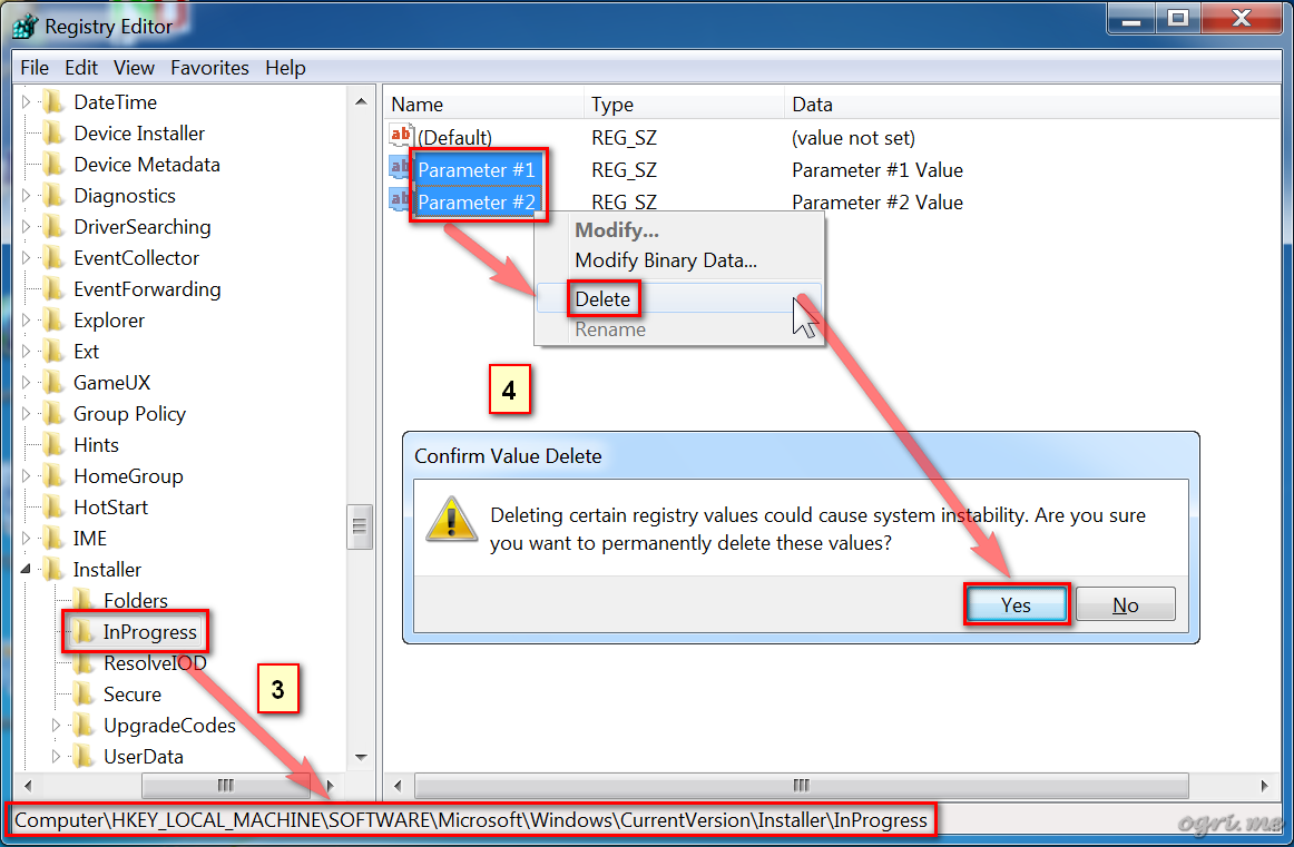 ogri.me | Windows 7: Windows Installer troubleshooting - 7