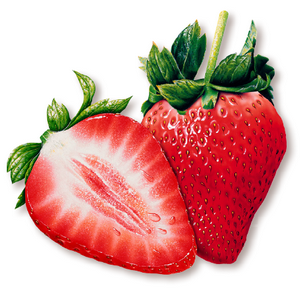 eat strawberry