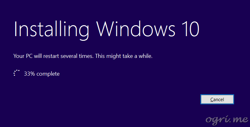 repair install win10 06 init installation